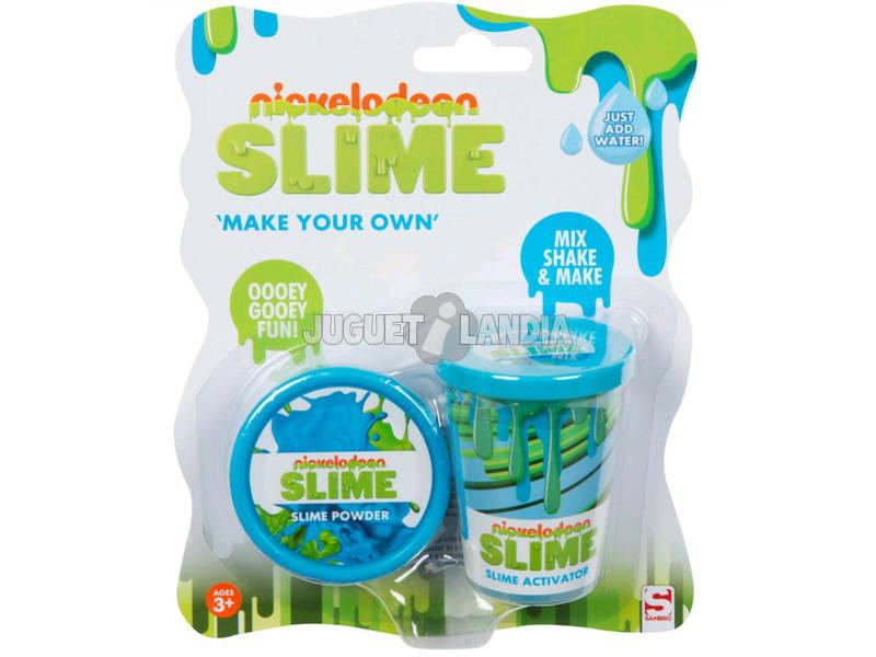 Nickelodeon Slime Set para Crear Tu Slime Azul Sambro SLM-3283-3