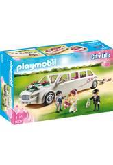 Playmobil Limousine avec Couple de Mariés 9227