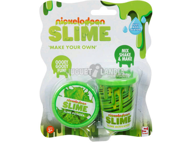 Nickelodeon Slime Set para Criar Seu Slime Cor-de-Rosa Sambro SLM-3283-2