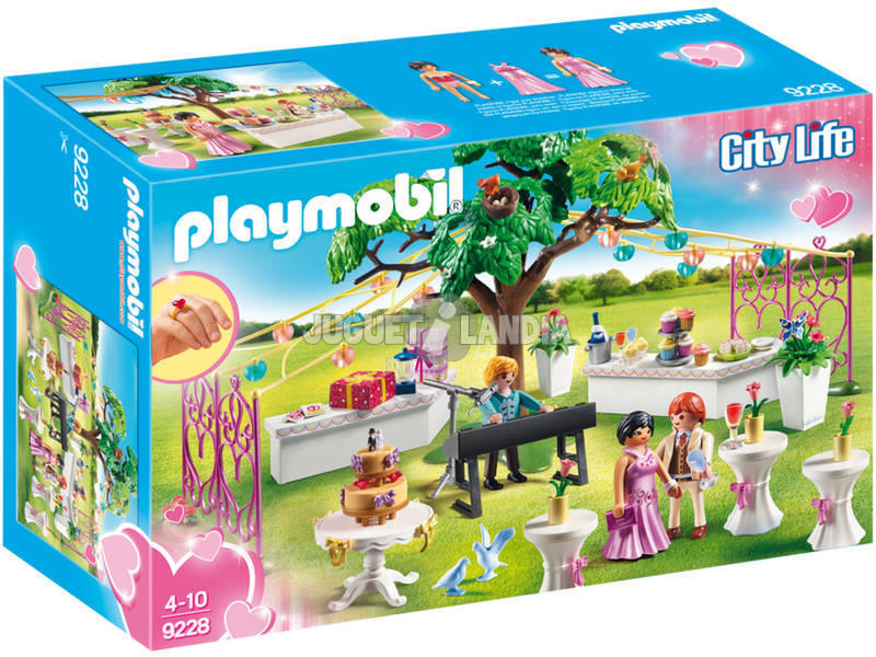 Playmobil Banquete De Bodas 9228