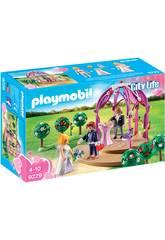 imagen Playmobil Pabellón Nupcial Con Novios 9229
