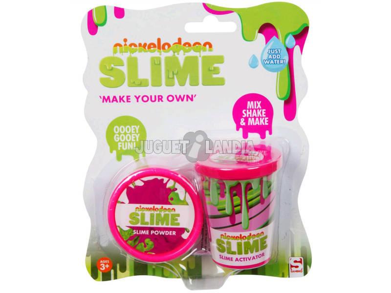 Nickelodeon Slime Set para Criar Seu Slime Azul Sambro SLM-3283-2