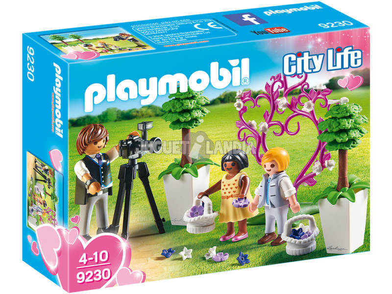Playmobil City Life Paggetti e Fotografo 9230