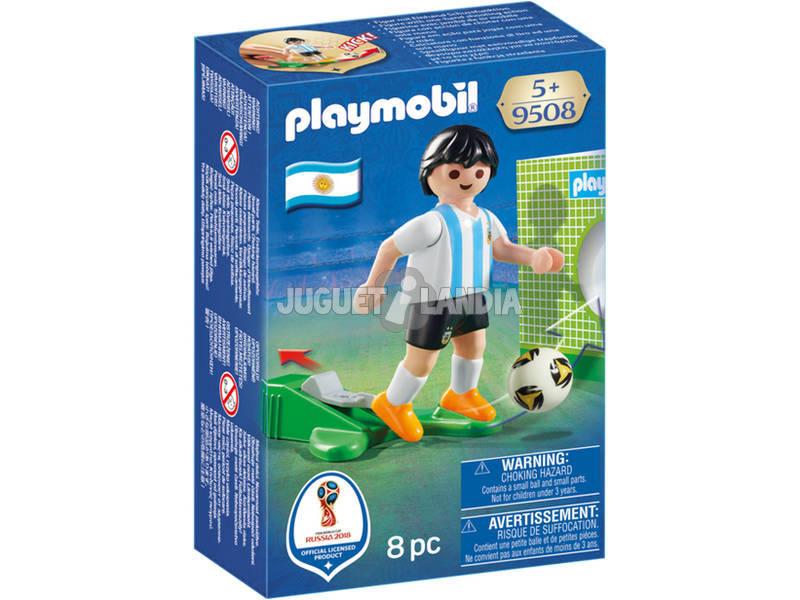 Playmobil Jugador De Fútbol Argentina 9508