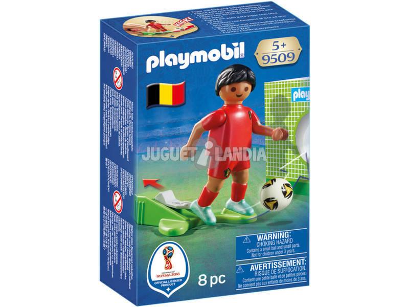 Playmobil Jugador De Fútbol Bélgica 9509