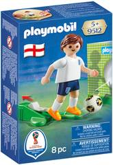 Playmobil Jugador De Fútbol Inglaterra 9512