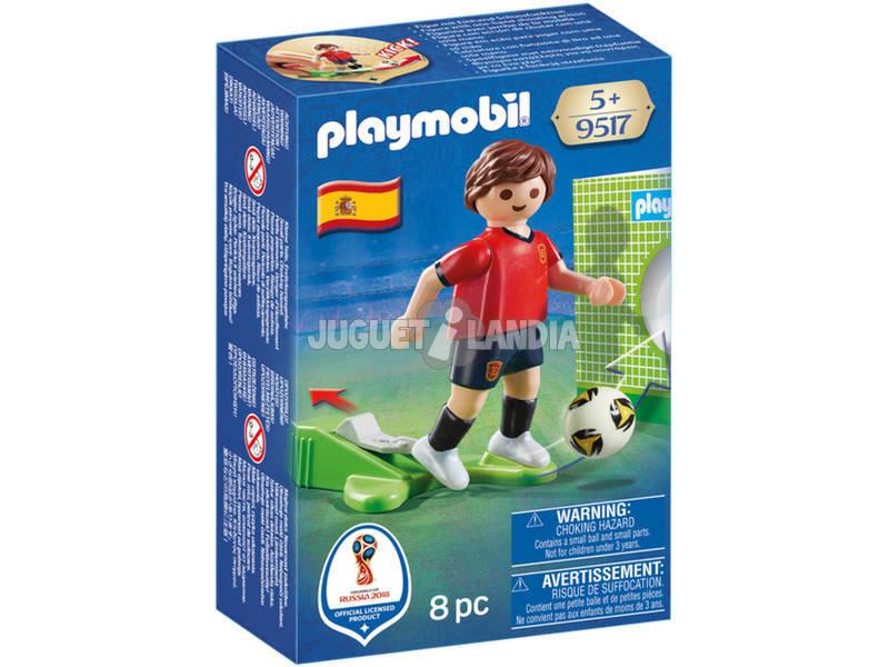 Playmobil Jugador De Fútbol España 9517