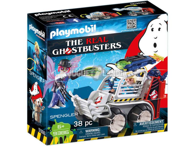 Playmobil Cazafantasmas Spengler Con Coche 9386