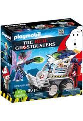 imagen Playmobil Cazafantasmas Spengler Con Coche 9386