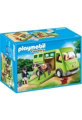 Playmobil Transporte De Caballo 6928