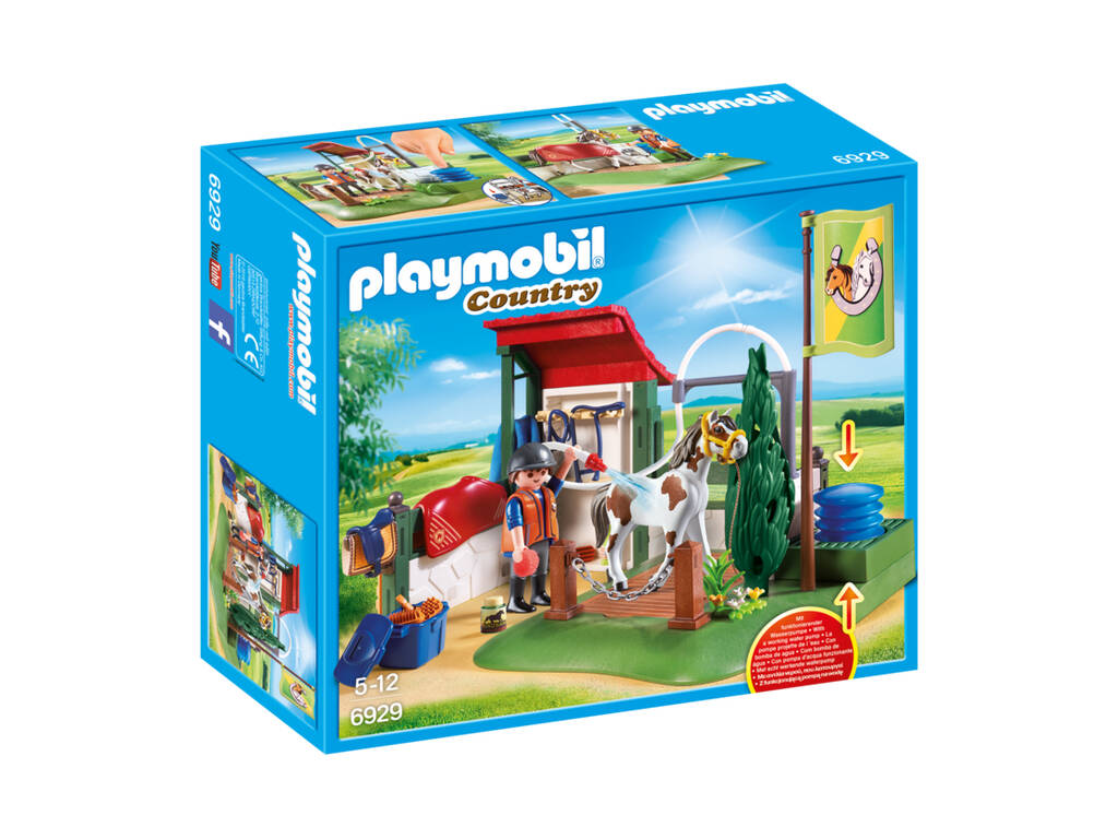 Cavalos de Playmobil Cleaning Set 6929