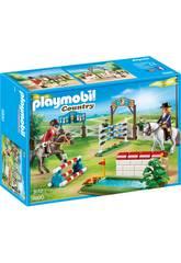 imagen Playmobil Torneo De Caballos 6930