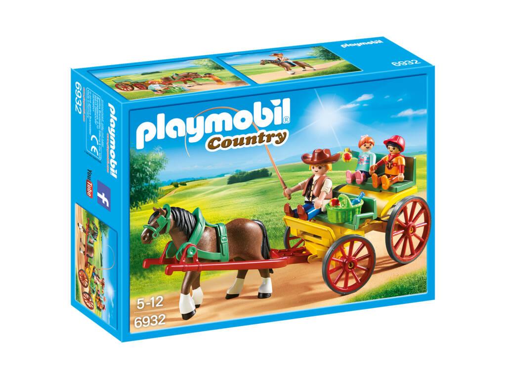 Playmobil Carruaje Con Caballo 6932
