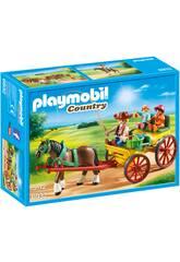 imagen Playmobil Carruaje Con Caballo 6932