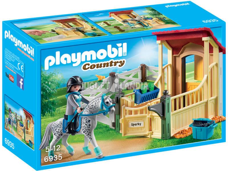 Playmobil Country Stalla con Cavallo Appaloosa 6935