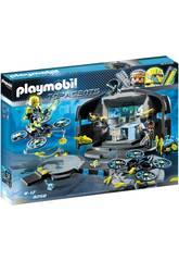 imagen Playmobil Centro De Mando Del Dr. Drone 9250