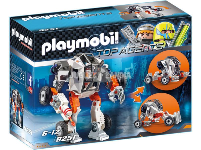 Playmobil Agente General Con Robot 9251