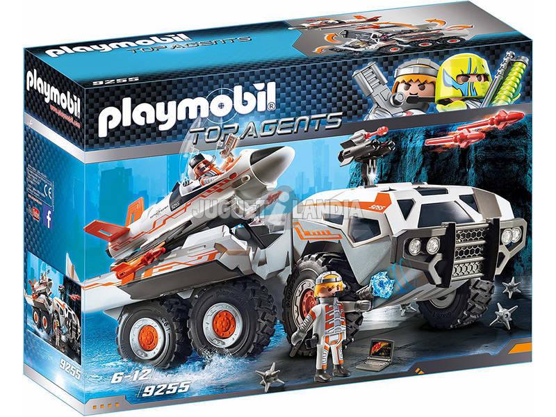 Playmobil Top Agents Mezzo d'Assalto dello Spy Team 9255
