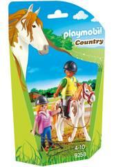 imagen Playmobil Profesor De Equitación 9258