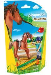 imagen Playmobil Thérapeute de cheval 9259