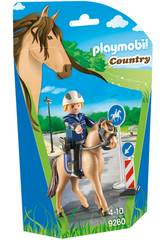 imagen Playmobil Policía Montada 9260