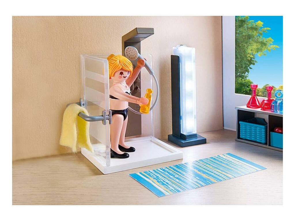 acheter playmobil salle de bain avec douche l 39 italienne 9268 juguetilandia. Black Bedroom Furniture Sets. Home Design Ideas