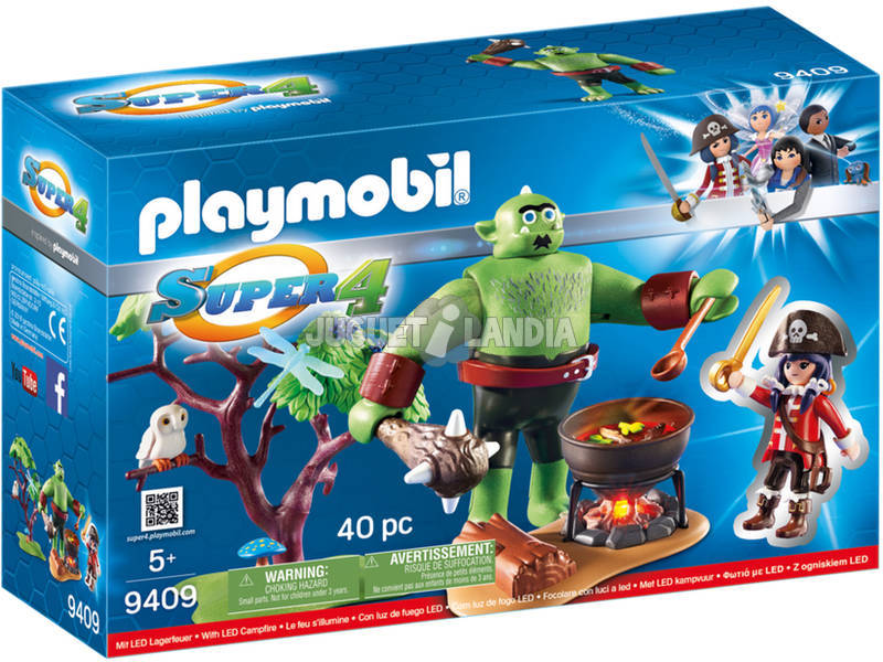 Playmobil Ogro Com Ruby 9409