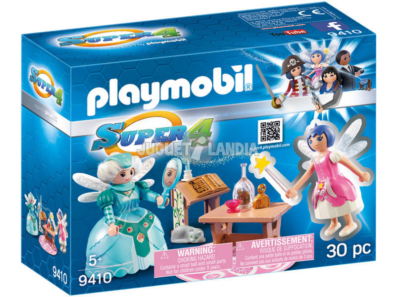 Playmobil Grande Fada Com Twinkle 9410