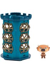 Hero Eggs Monsters Mallette Tour avec Figurine Exclusive Giochi Preziosi HEW04000