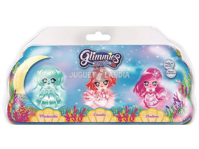Glimmies Aquaria Blister 3 Figuras Giochi Preziosi GLA02010