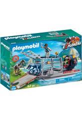 imagen Playmobil Hidrodeslizador Con Jaula 9433