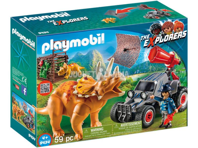 Playmobil Carro com Triceratops 9434
