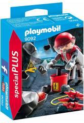 imagen Playmobil Explosión De Rocas 9092