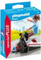 imagen Playmobil Skater Con Rampa 9094
