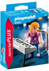 imagen Playmobil Cantante con Órgano 9095