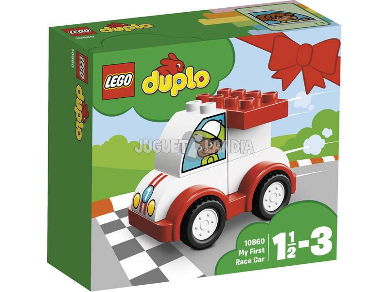 Lego Duplo Meu Primeiro Carro De Corrida 10860