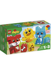 imagen Lego Duplo Mi Primer Puzzle de Mascotas 10858