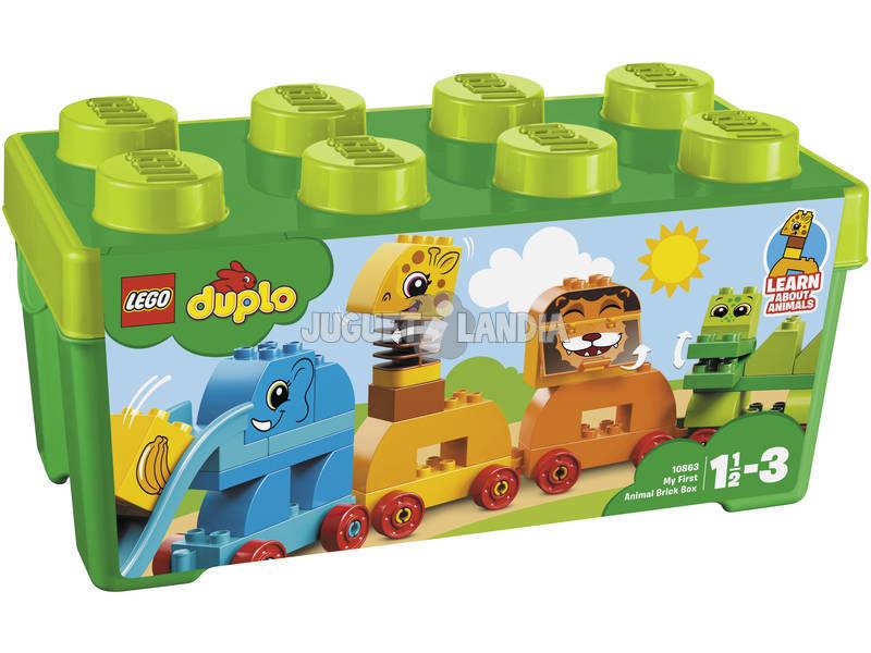 acheter lego duplo boite de briques mes premiers animaux 10863 juguetilandia. Black Bedroom Furniture Sets. Home Design Ideas