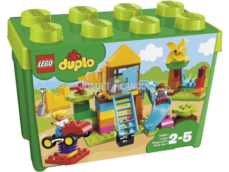 acheter lego duplo boite de briques grande zone de jeux 10864 juguetilandia. Black Bedroom Furniture Sets. Home Design Ideas