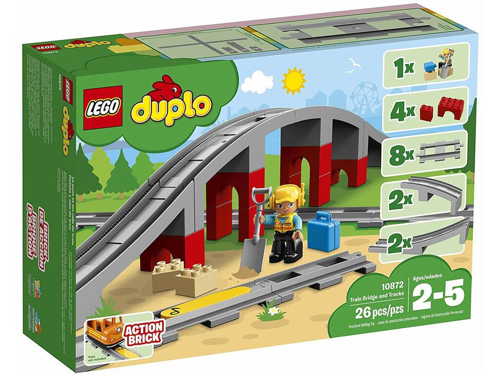 Lego Duplo Ponte e Ferroviárias 10872