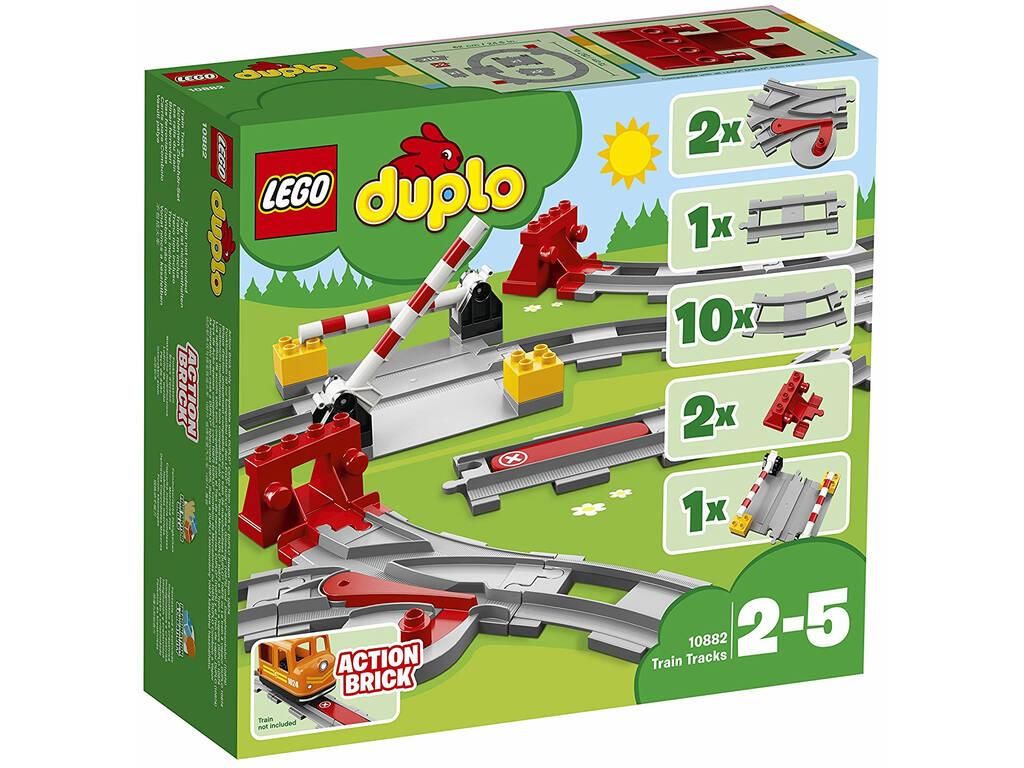 Lego Duplo Vías Ferroviárias 10882