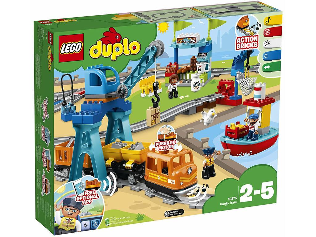 Lego Duplo Tren de Mercancias 10875
