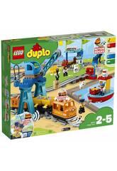 imagen Lego Duplo Tren de Mercancias 10875