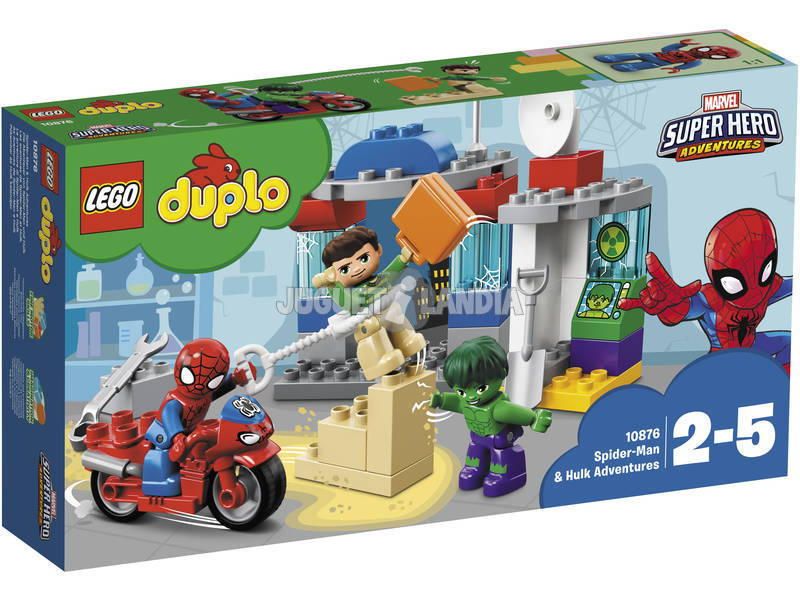Lego Duplo Spiderman e Hulk Adventures 10876