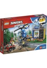 Lego Juniors Poursuite Policiaire à la Montagne 10751