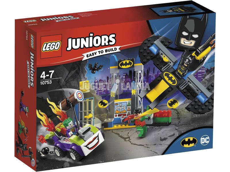 Lego Juniors Ataque do Coringa ao Batcueva 10753