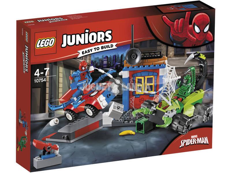 Lego Juniors Spiderman vs. Rua da Batalha do Escorpião 10754