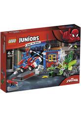 Lego Juniors Spiderman vs. Escorpión Batalla Callejera 10754