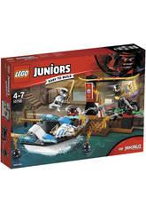 Lego Juniors Poursuite en Bateau Ninja de Zane 10755