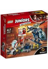 imagen Lego Juniors Los Incríbles 2 Persecución por los Tejados de Elastigirl 10759